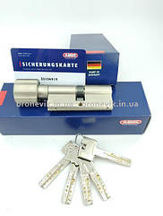 Цилиндр Abus M12R 140мм (70х70) T Ключ-вертушка 5 кл. Матовый хром