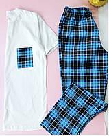 Мужская теплая пижама. Одежда для дома и сна. Все размеры 46