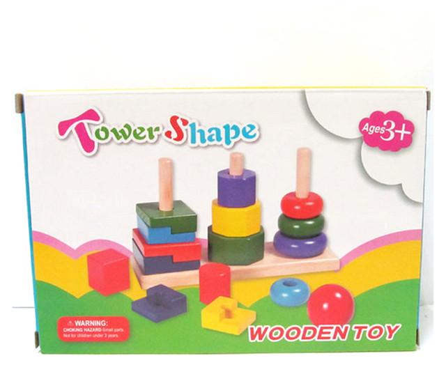 • Игрушки деревянные