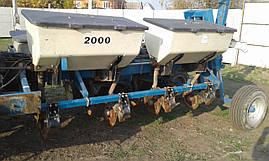 Сеялка пропашная дисковая с удобрениями для кукурузы 8 ряд Kinze б/у, фото 2