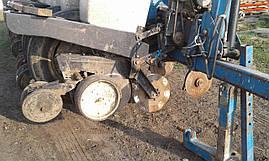 Сеялка пропашная дисковая с удобрениями для кукурузы 8 ряд Kinze б/у, фото 3