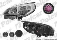 Фара лев Fiat Doblo 15-