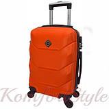 Дорожный набор чемоданов 4 штуки Bonro 2019 оранжевый (10500201), фото 3