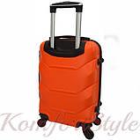 Дорожный набор чемоданов 4 штуки Bonro 2019 оранжевый (10500201), фото 4