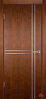 Двері міжкімнатні Двері Білорусії Флеш 7 світлий горіх ПГ