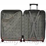 Дорожный набор чемоданов 4 штуки Bonro 2019 оранжевый (10500201), фото 5