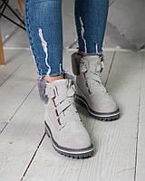 Женские ботинки UGG Australia D&K Sheepskin Gray ( в стиле UGG)