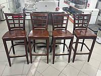 Стулья барные деревянные | Мебель для кафе, бара, ресторана б/у