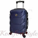 Дорожный набор чемоданов 4 штуки Bonro 2019 темно-синий (10500204), фото 3