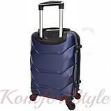 Дорожный набор чемоданов 4 штуки Bonro 2019 темно-синий (10500204), фото 4
