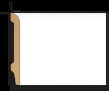 Плинтус напольный DECOLUX DSK12015, лепной декор из дюрополимера, фото 2