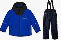 Зимнийтермокомбинезон C&A(Германия)для мальчика 140см /мембранный лыжный костюмRodeo синий, фото 1