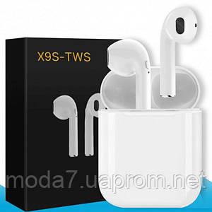 Наушники Bluetooth гарнитура iFans X9S-TWS White