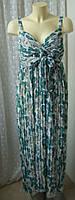 Платье женское сарафан летний длинный макси бренд Next р.46