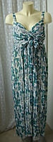 Платье женское сарафан летний длинный макси бренд Next р.46, фото 1