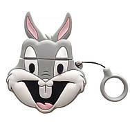 Чехол для наушников Apple AirPods Alitek Bugs Bunny (Багз Банни) + держатель (88660), фото 1
