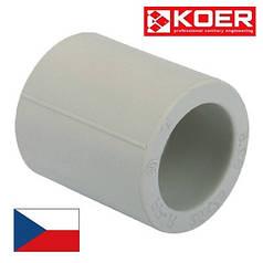 Муфта 25 для полипропиленовых труб KOER