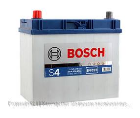 "BOSCH Аккумулятор Bosch (J) S4 Silver 45Ah, EN 330, левый""+"" 238х129х227 (ДхШхВ), 0 092 S40 230"