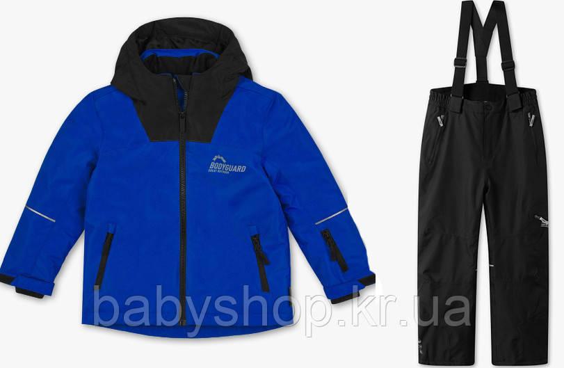 Зимнийтермокомбинезон C&A(Германия)для мальчика 140 см мембранный лыжный костюмRodeo сине-черный, фото 1