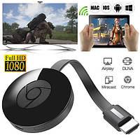 Медиаплеер Chromecast для передачи изображения на TV hdmi адаптер