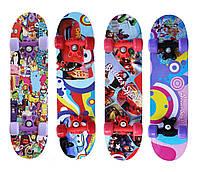 Скейтборд/скейт Smart mini, 60х15 см
