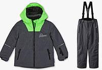 Зимнийтермокомбинезон C&A(Германия)для мальчика 140см /мембранный лыжный костюмRodeo серый, фото 1