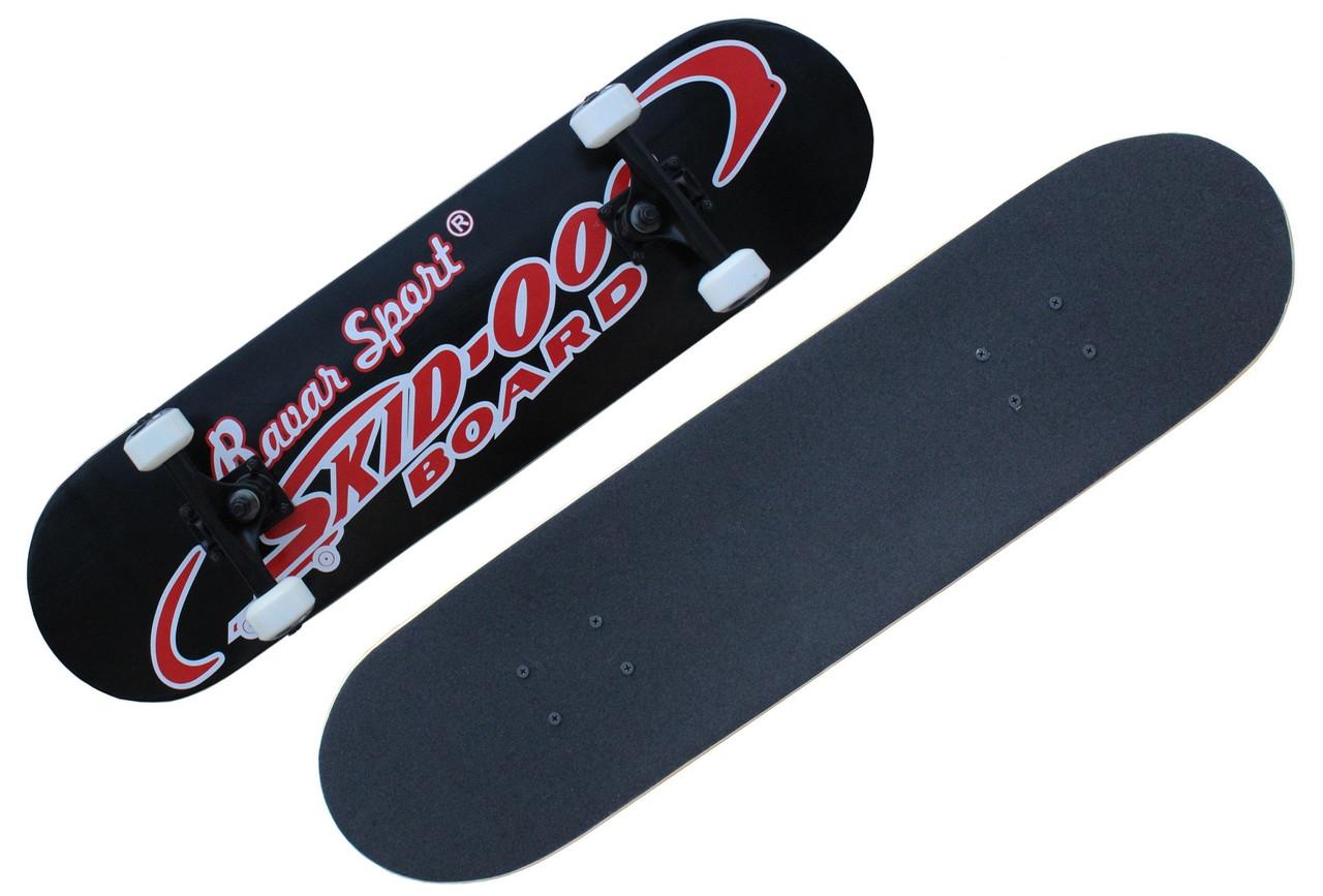 Скейтборд/скейт Brave, разн. графити