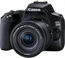 Canon EOS 250D + объектив 18-55 IS Black (3454C007AA)