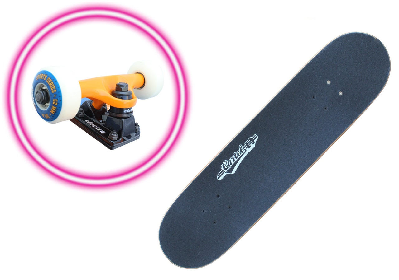 Скейтборд/скейт Track Master, разн. графити