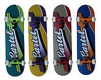 Скейтборд/скейт BS 002, разн. виды графити
