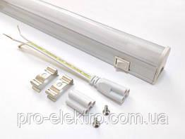Линейные светодиодные светильники T5 (IP20); 14W; 1120Lm; Белый холодный 1018494