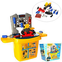 Набор инструментов HS6330 верстак 27 деталей игрушечный детский набор