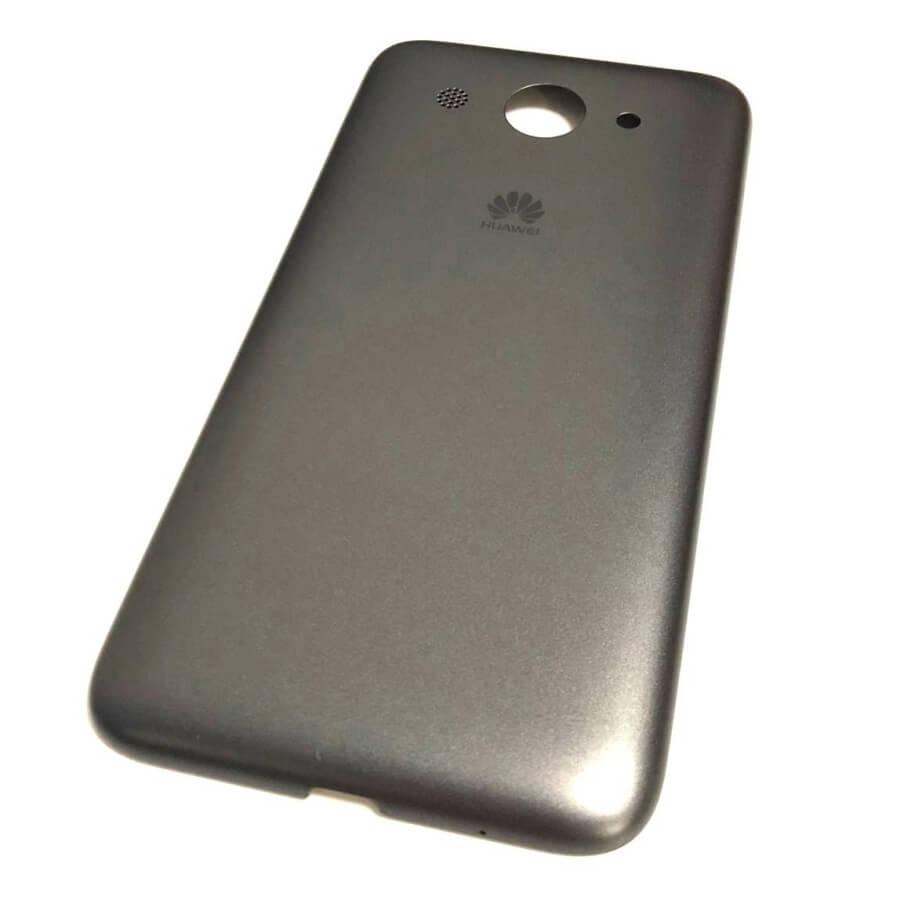 Задняя крышка Huawei Y3 2017 CRO-U00, CRO-L02, CRO-L22, Y5 Lite 2017, серая Оригинал
