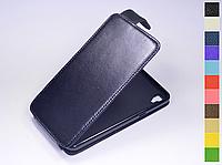Откидной чехол из натуральной кожи для LG X Power K220 DS