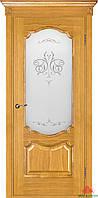 Дверь межкомнатная Двери Белоруссии Престиж дуб светлый ПО