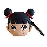 Чехол для наушников Apple AirPods Alitek Japanese girl + карабин (88673), фото 1