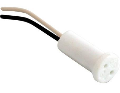 Патрон G-4 керамический HN034021 12-230V 2A (провод 50см) Код.58430, фото 2
