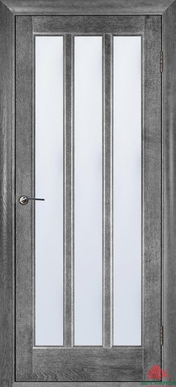 Дверь межкомнатная Двери Белоруссии Троя серый ясень ПОО