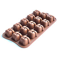 Силиконовая форма для конфет