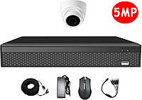 Комплект видеонаблюдения CoVi Security AHD-1D 5MP MasterKit
