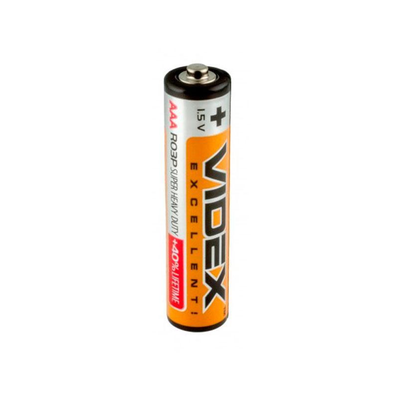 Батарейка Videx (1.5V AAA) мини-пальчиковая