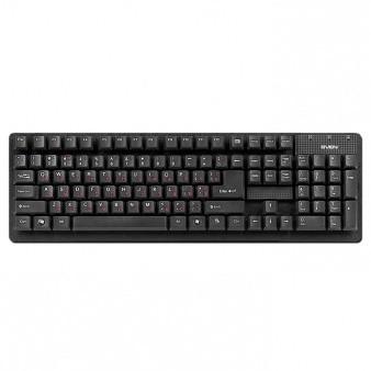 Клавиатура Sven 301 Standard Black PS/2