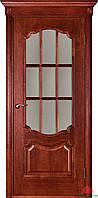 Двері міжкімнатні Двері Білорусії Престиж вишня ПО (з решіткою)