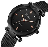 Женские наручные часы GENEVA black, фото 2