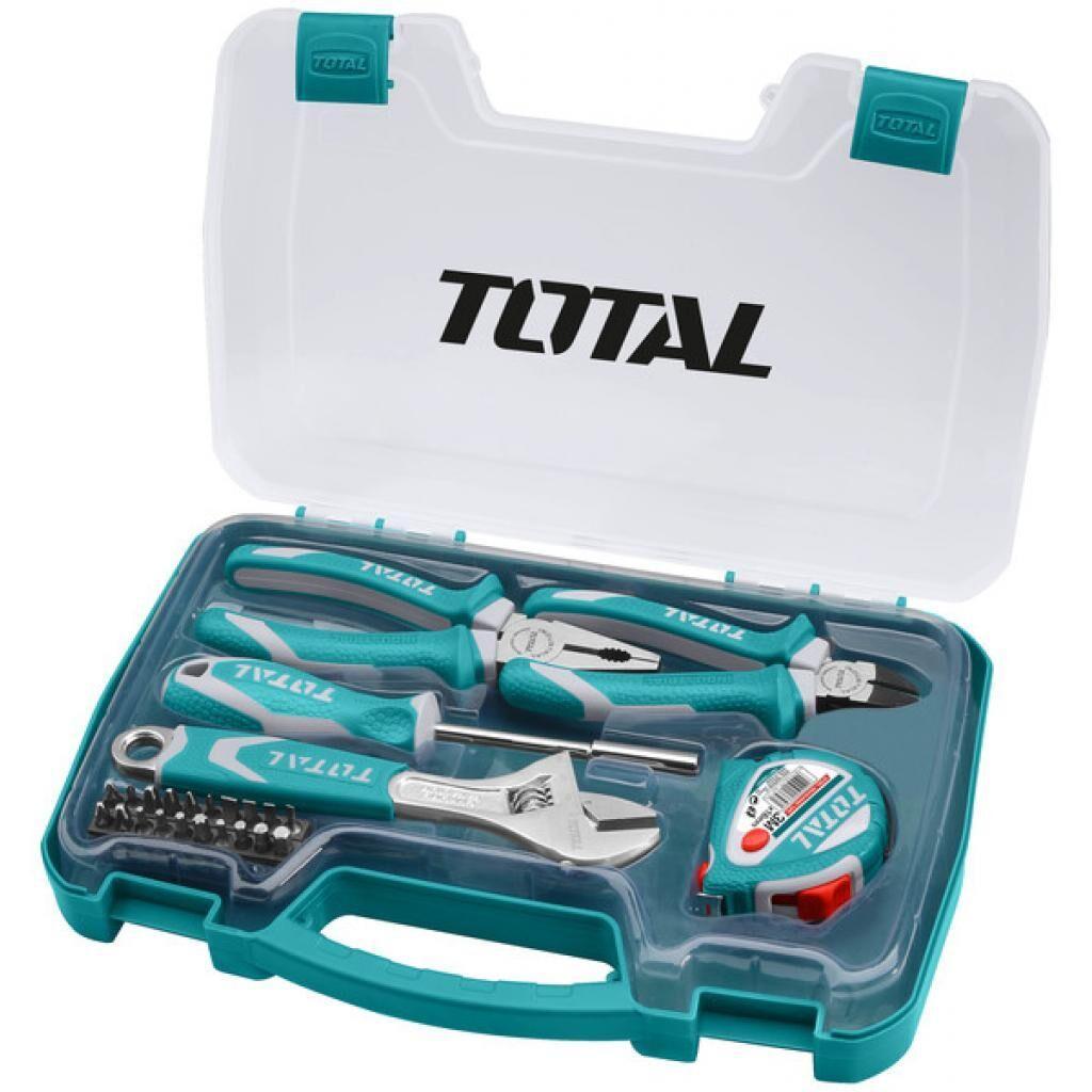Набор инструментов TOTAL ручных инструментов, 25 предм. (THKTHP90256)