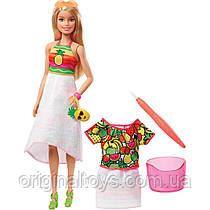 Кукла Барби Фруктовый сюрприз Barbie Crayola Rainbow Fruit