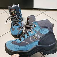 Ботинки женские спортивные синие кожа Grisport Outdoor Adventure, 37
