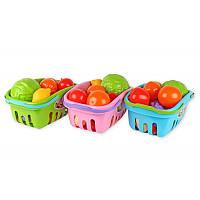Детский игровой набор «Продукты в корзинке» 5354 Технок, 3 вида