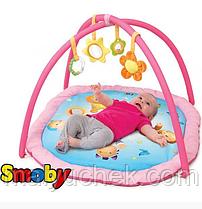 Развивающий коврик Smoby Cotoons розовый 110212R