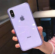 Чохол Matte Frame для Iphone 7+ 8+ Plus Blue